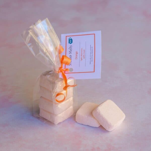Soup of Success Orange Shower Melts