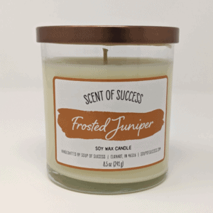 Frosted Juniper Candle