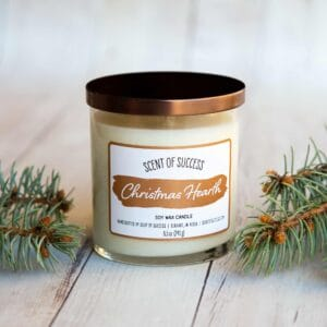 Soup of Success Christmas Hearth Soy Candle