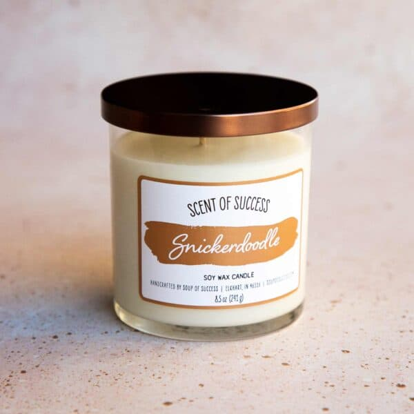 Soup of Success Snickerdoodle Soy Candle