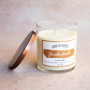 Open Soup of Success Snickerdoodle Soy Candle