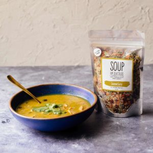 Soup of Success Coconut Curry Soup product photo.