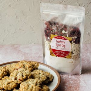 Soup of Success Cranberry Yogurt Cookie Product Photo.