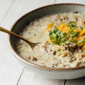 Bowl of Soup of Success' Hearty Potato Soup.