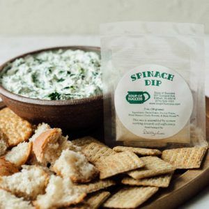 Soup of Success Spinach Dip Product Photo.