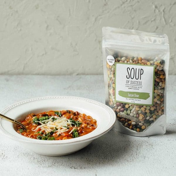 Soup of Success Tuscan Bean Soup product photo.