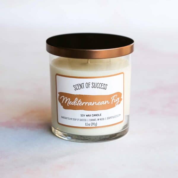 Soup of Success Mediterranean Fig Soy Candle