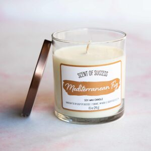 Open Soup of Success Mediterranean Fig Soy Candle