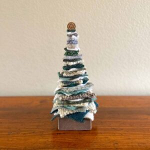 Soup of Success Medium Bluegreen Fabric Tree
