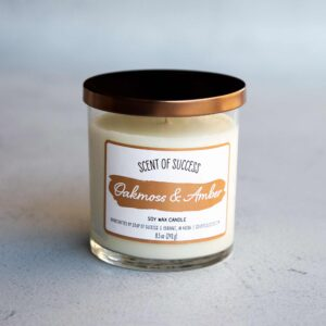 Soup of Success Oakmoss & Amber Soy Candle