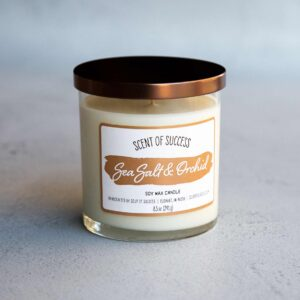 Soup of Success Sea Salt & Orchid Soy Candle