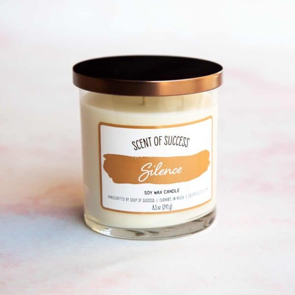 Soup of Success Silence Soy Candle