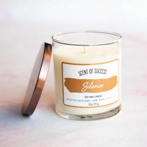 Open Soup of Success Silence Soy Candle