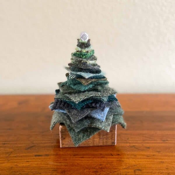 Soup of Success Short Green Fabric Tree