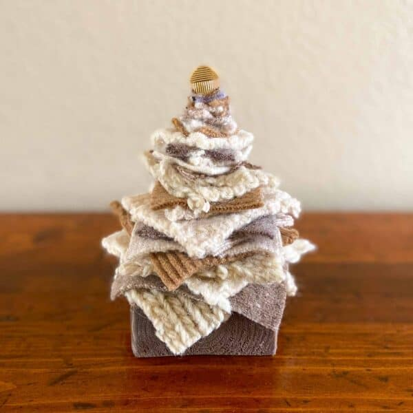 Soup of Success Short White Fabric Tree
